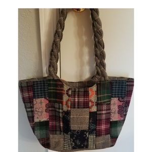 *Capelli of NY* Quilted Shoulder Bag